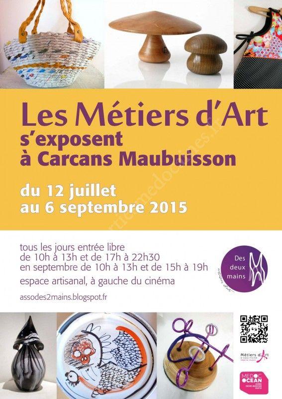 Se divertir dans le m doc agenda les m tiers d 39 art s - Carcans maubuisson office de tourisme ...