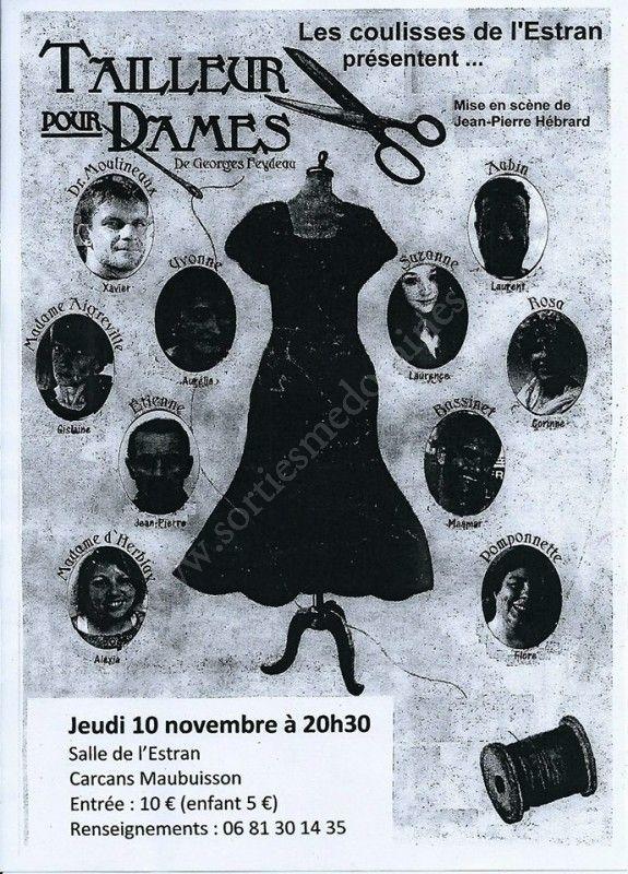 Se divertir dans le m doc agenda tailleur pour dames - Carcans maubuisson office de tourisme ...