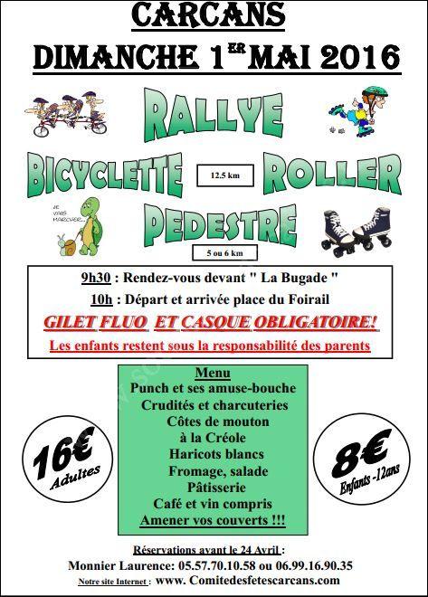 Se divertir dans le m doc agenda rallye bicyclette et - Carcans maubuisson office de tourisme ...