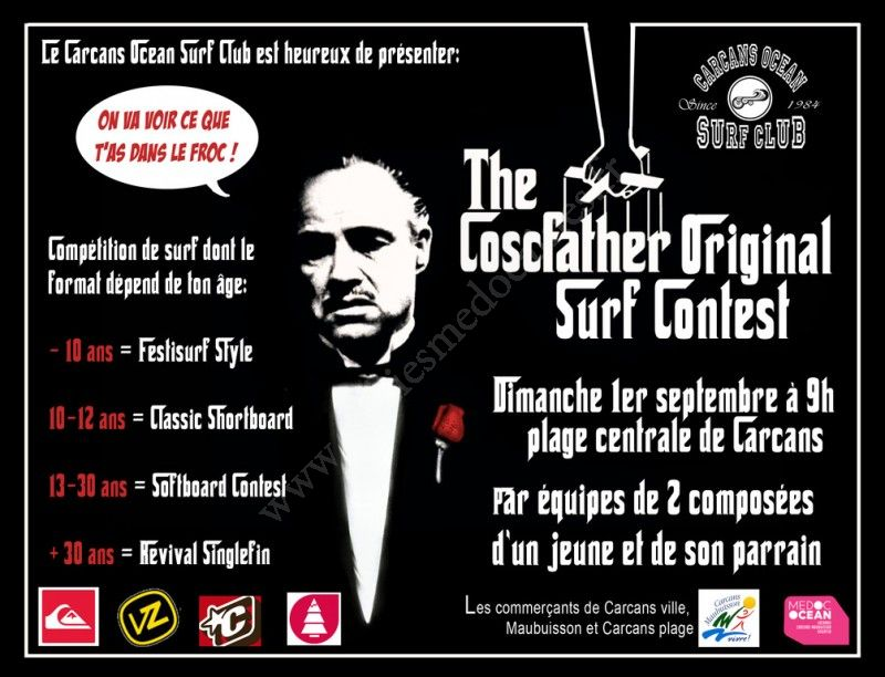 Se divertir dans le m doc agenda coscfather original surf contest - Carcans maubuisson office de tourisme ...
