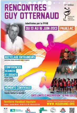 Handball - 8 mes Rencontres Guy Otternaud