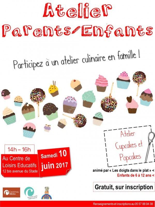 Atelier Cuisine Parent Enfant   Se Divertir Dans Le Medoc Agenda Atelier Parents Enfants Culinaire