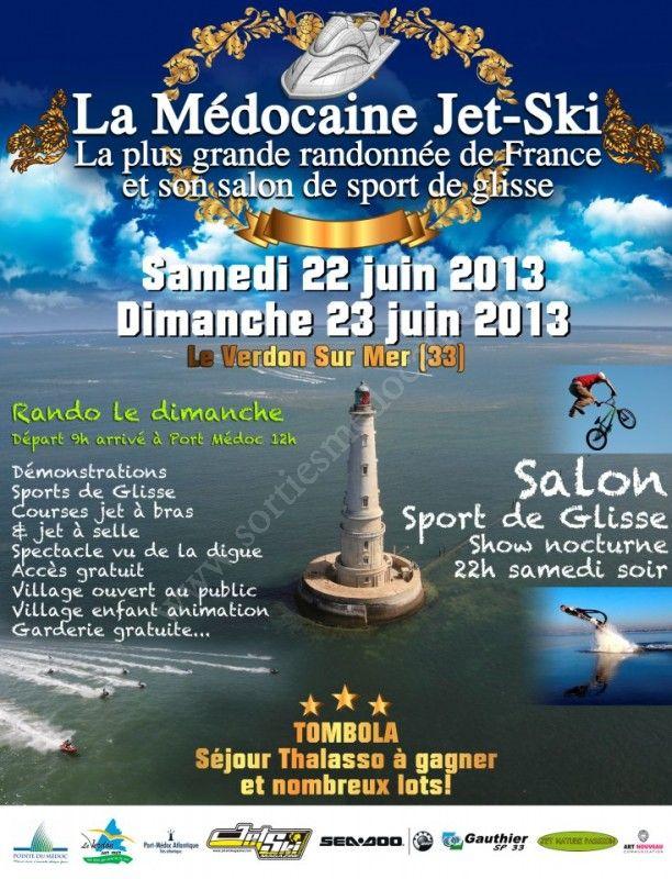 Se divertir dans le m doc agenda la m docaine jet ski - Office de tourisme le verdon sur mer ...