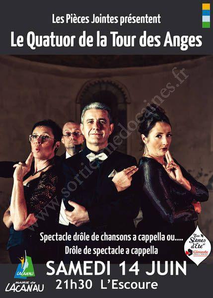 La Tour Des Anges se divertir dans le médoc - agenda - le quatuor de la tour des anges