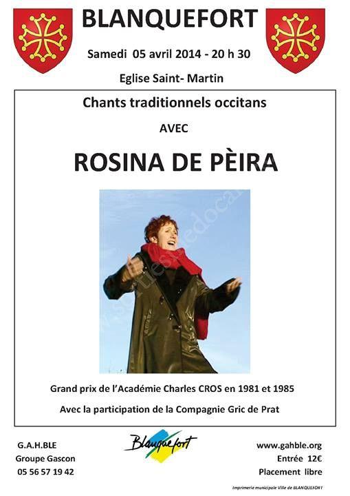 Rosina De Peira E Martina* Rosina De Pèira E Martina - Ié