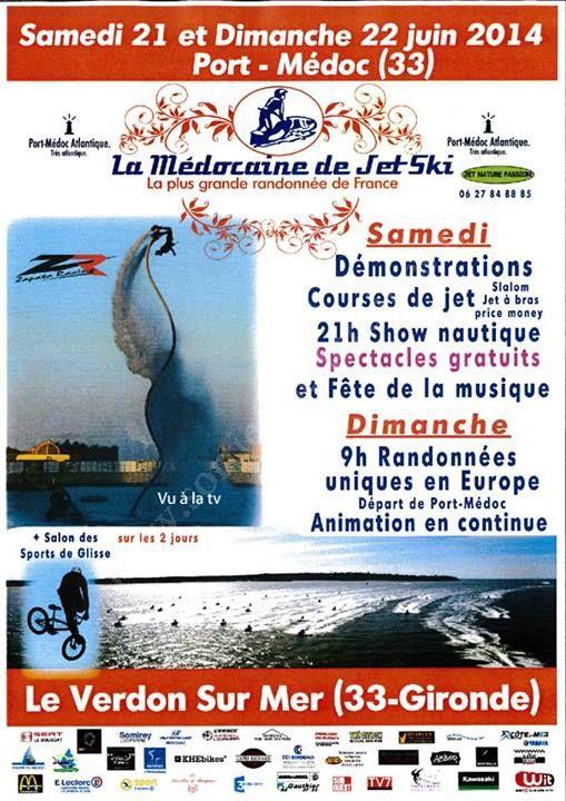 Se divertir dans le m doc agenda la m docaine de jet ski - Office de tourisme le verdon sur mer ...
