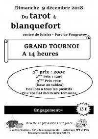 Tournoi de Tarot