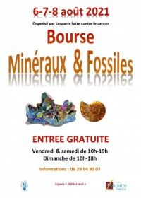 Bourse minéraux & fossiles