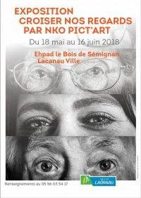 Exposition Croiser Nos Regards par Nko Pict'art