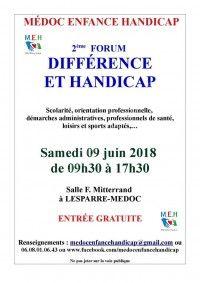 Forum Différence et Handicap 2018