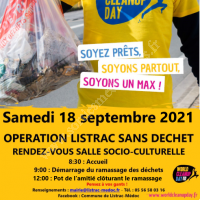 """Listrac Clean Up Day ou """"le Grand Nettoyage !"""""""