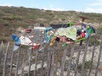 Ramassage de déchets et atelier artistique