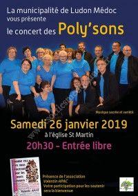 Concert des Poly'sons de Ludon Médoc