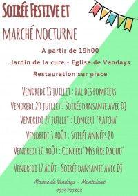 Soirée Festive & Marché Nocturne