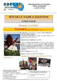 Se divertir dans le m doc agenda f te de la tulipe soustons - Office de tourisme de soustons ...