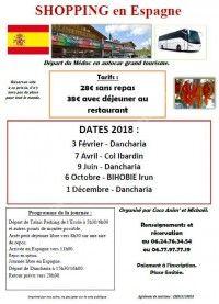 Journée Shopping au Col d'Ibardin