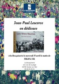 Dédicaces Jean-Paul Lescorce