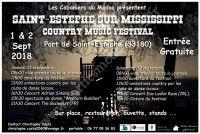 Festival Country Saint-Estèphe sur Mississippi 2018