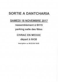 Sortie Dantcharia