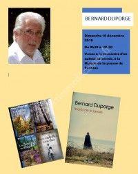 Rencontre avec l'auteur Bernard Duporge