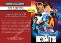 """Ciné - Goûter """"Les Incognitos"""""""