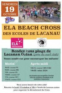 ELA Beach Cross des Ecoles de Lacanau