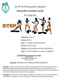 Stage de Step