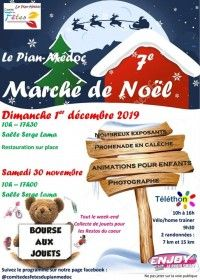 Marché de Noël 2019 / Téléthon