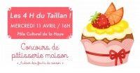 4H du Taillan Concours de Pâtisserie
