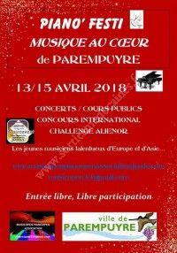 Piano'Festi - Musique au Coeur de Parempuyre