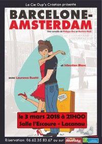 Barcelone - Amsterdam