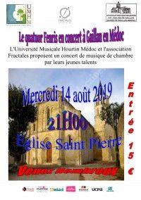 Le Quatuor Fenris en Concert
