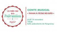 Conte Musical Taman à L'école Des Elfes