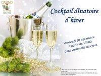 Cocktail dînatoire d'hiver