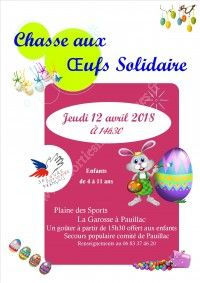 Chasse aux Oeufs Solidaire