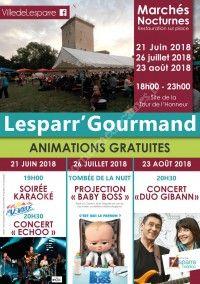 Lesparr'Gourmand 2018 - Fête de la Musique