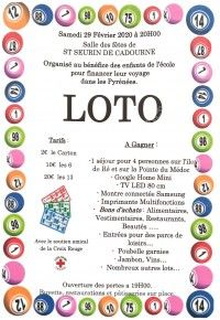 LOTO ECOLE ST SEURIN
