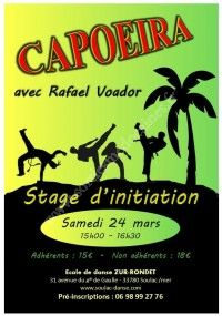 Stage d'Initiation Capoeira