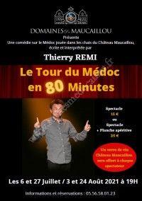 Spectacle-comédie : Le Tour du Médoc en 80 minutes