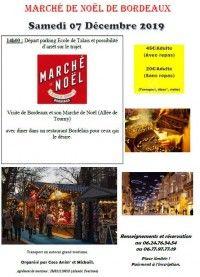 Marché de Noël de Bordeaux 2019