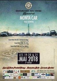 Monta Car Old School 2018