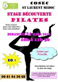 Stage Découverte Pilates