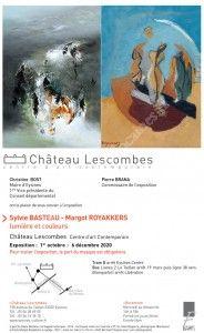 Exposition : S. Basteau et M. Royakkers - Lumière et couleurs