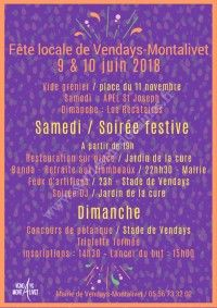 Fête locale de Vendays-Montalivet 2018