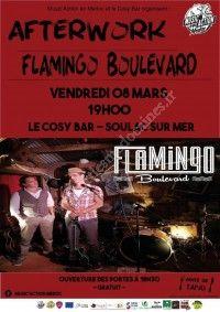 Afterwork - concert gratuit Flamingo Boulevard
