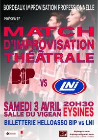 Match d'impro : BIP vs LNI