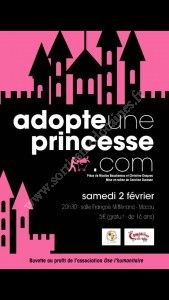 Théâtre : Adopte une princesse.com