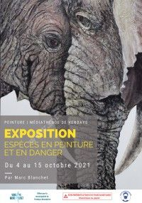 """Exposition """"Espèces en peinture et en danger"""""""