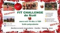 Fit Challenge de Noël