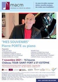 Concert MACM : Pierre Porte